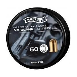 Cartouche 9mm à blanc x 50 Revolver