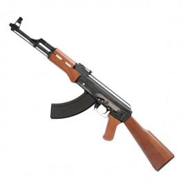 Fusil d'assault AK47 GG Blow back sim bois