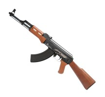 Fusil d'assault AK47 GG Blow back sim bois