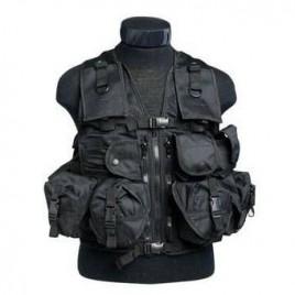 Gilet tactique 9 poches noir