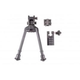 Bi-pied Compact universel métal 3 fix