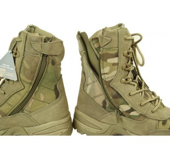 Tactical boot Multicam+zip Chaussures inter