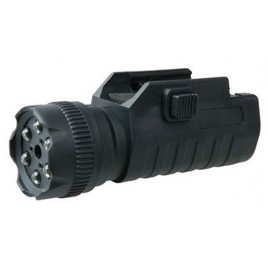 Laseret lampe LED Walther