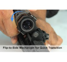 Montage UTG Flip to side