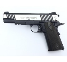 Replique Colt 1911 Rail Bicolore Blowback