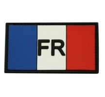 Patch Drapeau Tricolore PVC