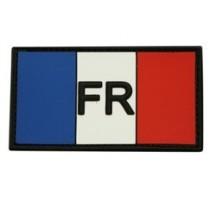 Patch Drapeau Tricolore PVC