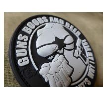 Patch 'Guns Beer and Boobs' PVC