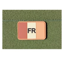 Patch ecusson France airsoft paintball Tan