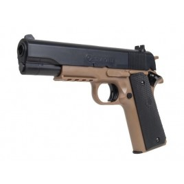 Réplique airsoft M1911 Colt Tan