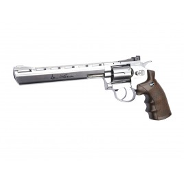 "Revoilver Dan Wesson 8"" Chrome"