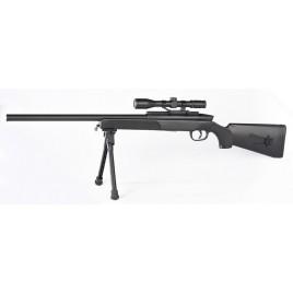 Fusil sniper airsoft avec lunette point rouge