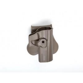 Holster rigide Polymer ASG Tan pour réplique