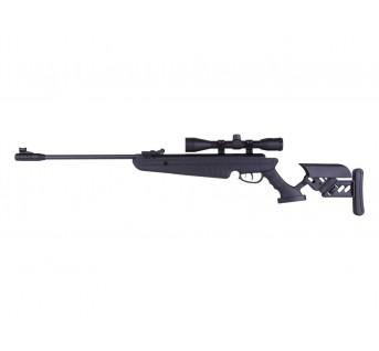 Carabine Plomb Tactical avec lunette réticul lumineux