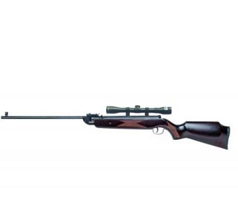 Carabine Plombs Bois 20 joules avec Lunettes 4X32