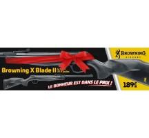 Carabine Plombs Browning X Blade II 20 joules