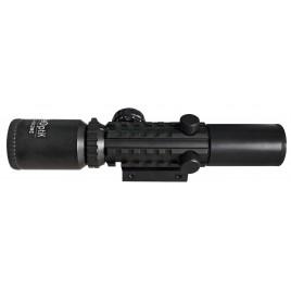 Lunette Zoom Tactical 2-6x28 Rouge/Vert