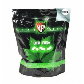BILLES 0,28 G BIO KING ARMS X3600
