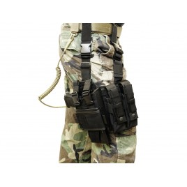 Holster cuisse pour Ingram M11 / MP9 / Scorpion ...