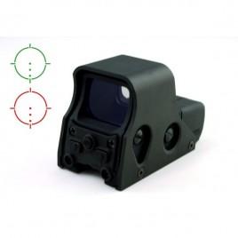 Red Dot type EO551 croisillon vert/rouge