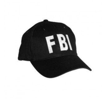 Casquette FBI Noire