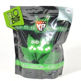 Billes Bio 20g sac 1 KG King Arms -