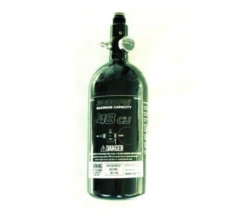 Bouteille air complete 0,8l PE basic