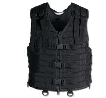 Gilet assault Veste Modular Miltec noir
