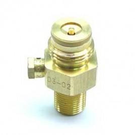 Valve Co² pin valve